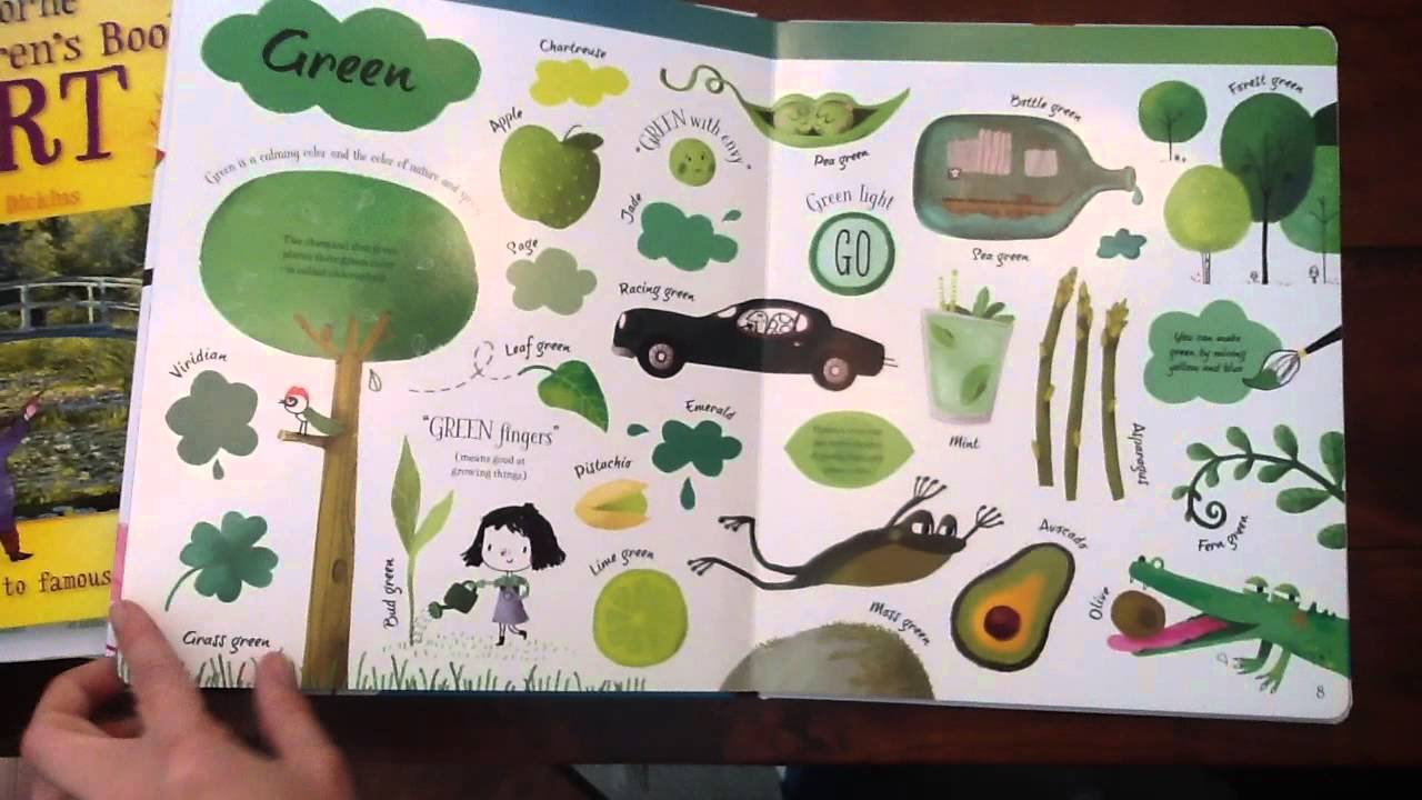 Usborne Big Book of Colors - YouTube