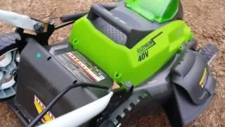 Greenworks 40V 19
