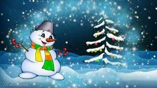 Новогодняя детская песня - Снеговик