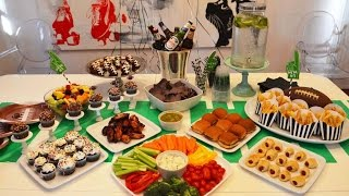 Throw a Great Game Day Bash: SuperBowl Recipes and Party Ideas Thumbnail