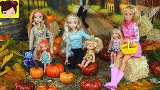 Bebes de Elsa y Anna Actividades de Halloween Para niños - Los Juguetes de Titi