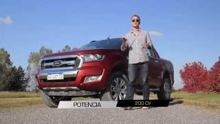 Ford Ranger Limited 4x4 2016 - Test - Matías Antico - TN Autos