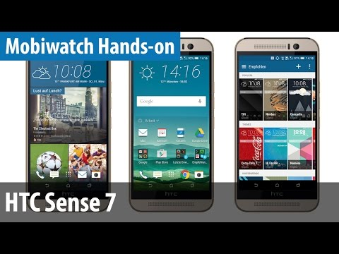 HTC One M9 - Neue Funktionen von Sense 7 | deutsch / german