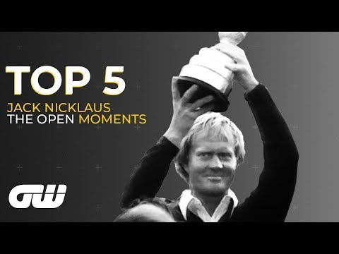 Top 5   Jack Nicklaus Moments at The Open Championship