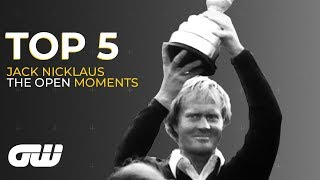 Top 5 | Jack Nicklaus Moments at The Open Championship
