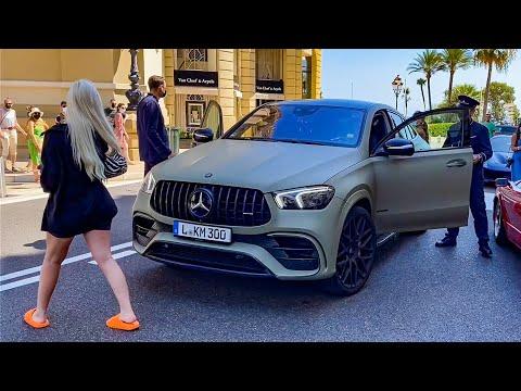 Carspotting in Monaco 🇲🇨😍 ثاني أغنى دولة  بالعالم