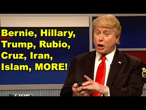 Bernie, Hillary, Trump, Cruz, Rubio, Iran - Al Gore, Donald Trump MORE! LV Sunday Clip Roundup 143