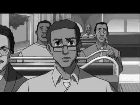 The Boondocks - Granddad is mad at Rosa Parks