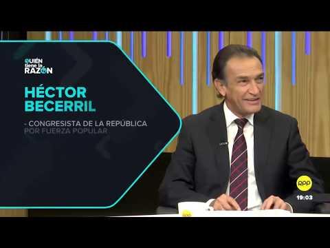 """#QTLR Entrevista │Héctor Becerril """"Algunos congresistas han querido regresar a Fuerza Popular"""""""