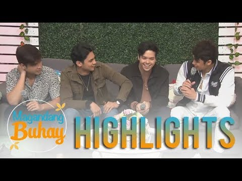 Magandang Buhay: Elmo, Donny, Jerome and Kiko reveal facts about each other