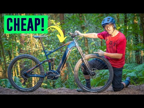 I Bought the CHEAPEST Electric Mountain Bike