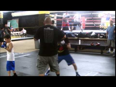 Bam Rodriguez training at the San Fernando Gym