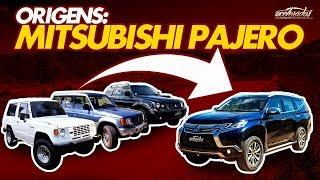 Origens: Mitsubishi Pajero! Quatro gerações da lenda off-road se encontram no Acelerados -Origens #9