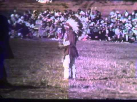 Medicine Lodge Indian Peace Treaty Pageant. Part 2
