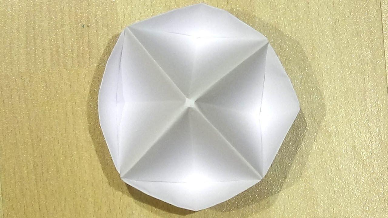 Pop It de origami - Cómo hacer origami Pop It