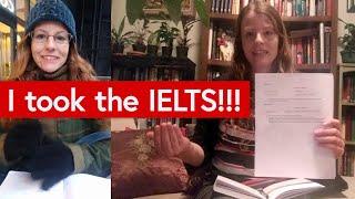 Emma takes the IELTS!