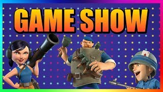 BOOM BEACH GAME SHOW TASK FORCE EDITION - 8 VS 8 *LIVE*