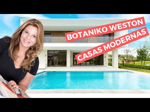 Casas amplas claras e modernas em weston youtube for Casas modernas en weston
