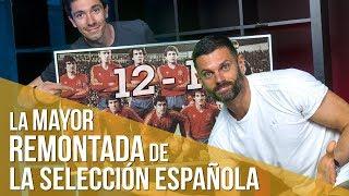 Historia del Fútbol. España - Malta