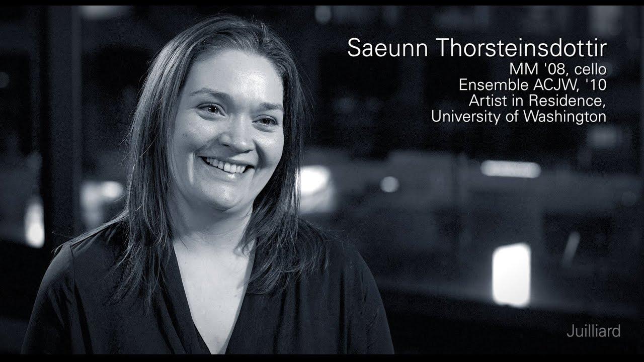 Juilliard Snapshot: Saeunn Thorsteinsdottir