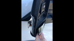 Ford Transit 2015 Driver Side Mirror Blinker and Glass Fix