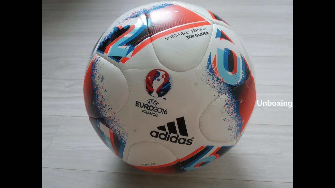d906aab6a9f Unboxing : Adidas FRACAS EURO 2016 MATCHBALL REPLICA TOP GLIDER  ┃AndyParkFootball [언박싱]