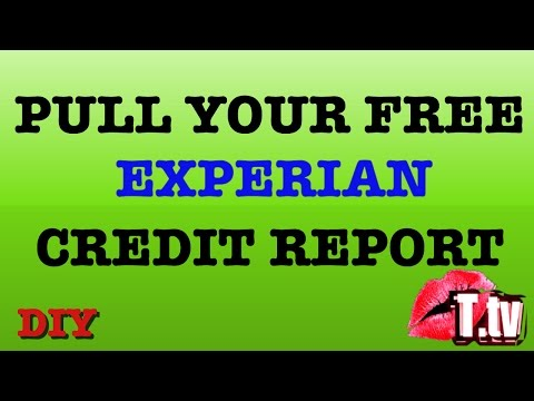 Free Experian Credit Report