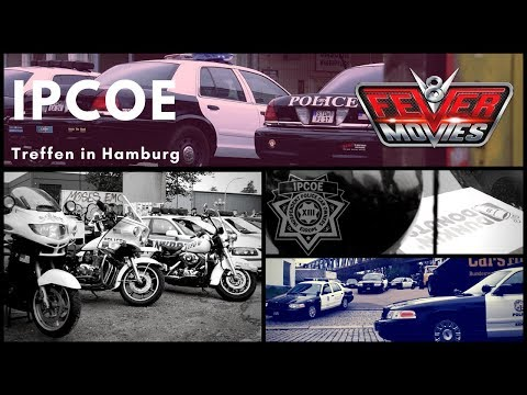 """Independent Police Car Owners Europe"" zu Besuch in Hamburg"
