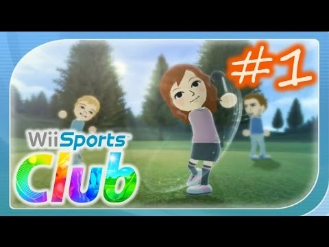 Wii Sports Club - Golf Online Gameplay Part 1 - 9 Holes Clas