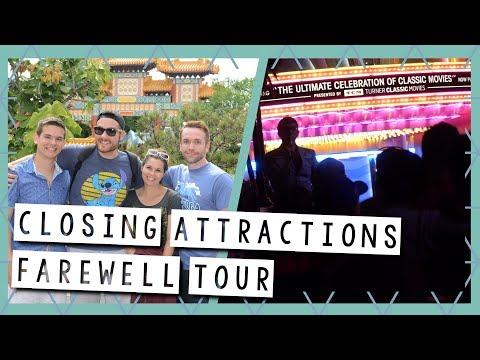 Closing Attractions - A Farewell Tour | Walt Disney World Vlog August 2017