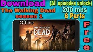 Download    The walking dead season 1   all Episodes Unlocked