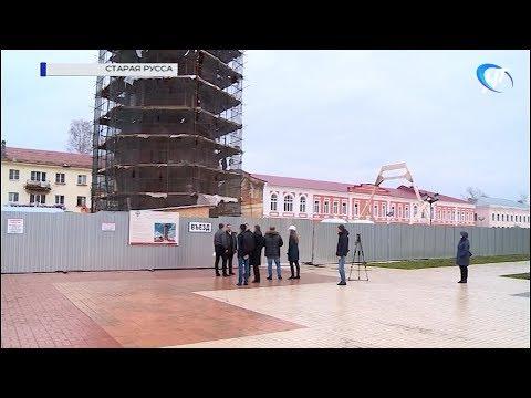 Губернатор Андрей Никитин осмотрел главные объекты Старой Руссы