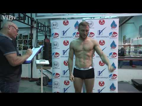 James Metcalf v Konstantin Alexandrov Weight in