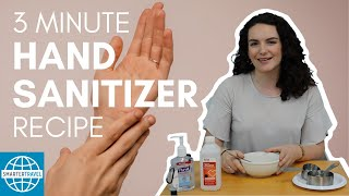 How to Make Your Own Hand Sanitizer (3 Minute Recipe) | SmarterTravel
