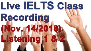 IELTS Live Class – Listening Strategy and Practice thumbnail