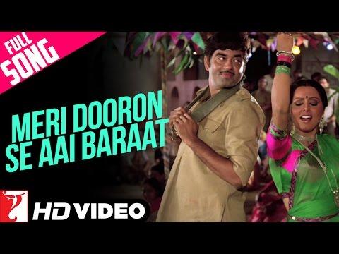 Meri Dooron Se Aai Baraat - Full Song HD | Kaala Patthar | Shatrughan | Neetu | Lata Mangeshkar