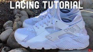 HOW TO LACE Nike Air Huarache