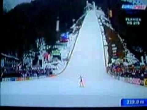 Bjørn Einar Romøren Ski Jumping World Record At Planica Slovenia March 2005 Youtube