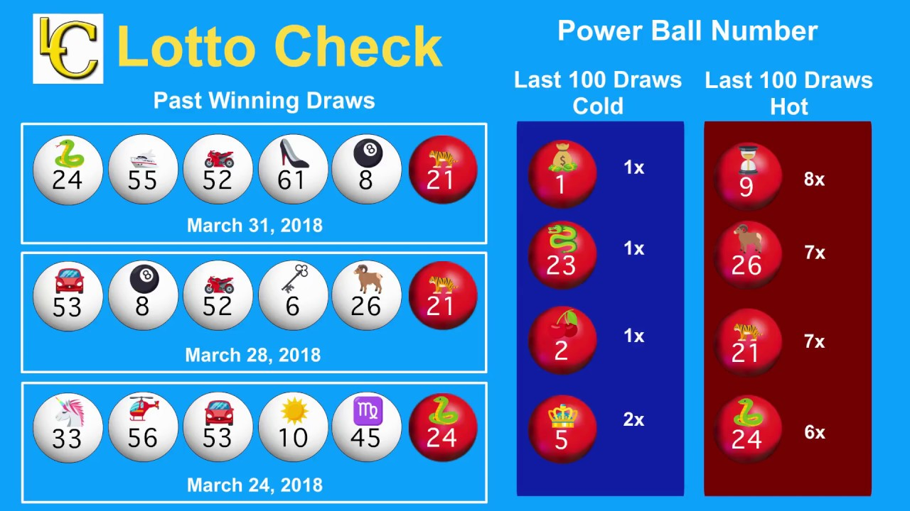 4 Numbers In Powerball