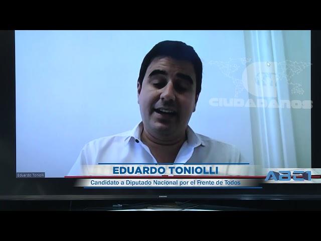 Eduardo Toniolli, candidato a diputado nacional sobre unidad pj - ABC1