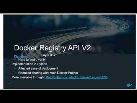 Docker Distribution Meetup #19