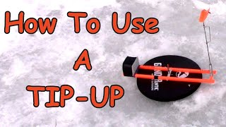 Tip-Up Basics: How To Use A Tip-Up