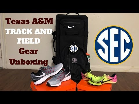 Texas A&M Nike Track And Field Gear Unboxing