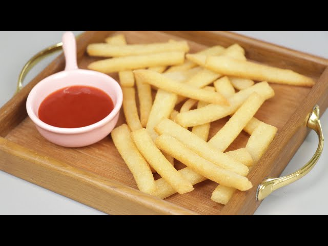 সুজি দিয়ে তৈরি ফ্রেন্চ ফ্রাই | Suji French Fry | Crispy Semolina French Fry Recipe
