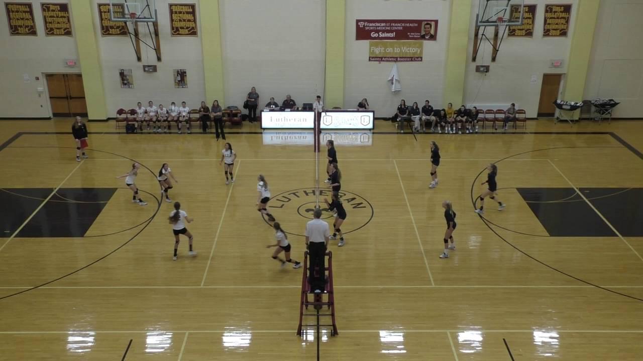 Trinity JV Volleyball 9/15/2016 vs Lutheran High School of Indy ...