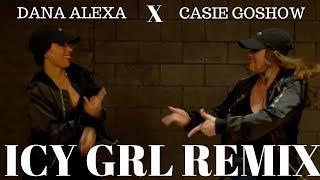 "Icy Grl Remix - @Saweetie Ft @Kehlani Dance Video |Dana Alexa X Casie ""Tynee"" Goshow"