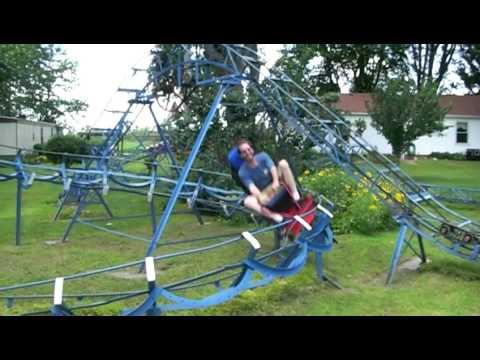 doug riding blue flash 2010 youtube