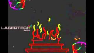 Wedding laser Show - Cordinate By Marjss SUNNY +91-979940748.flv