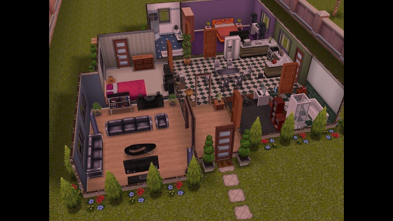 Sims gratuito arquitectura la mansi n modificada for Planos de casas sims