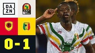 Leipzigs Amadou Haidara rettet Mali: Angola - Mali 0:1 Highlights | Afrika Cup | DAZN Highlights